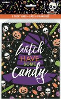 Skeleton Trick Or Treat Paper Goodie Bags (8)
